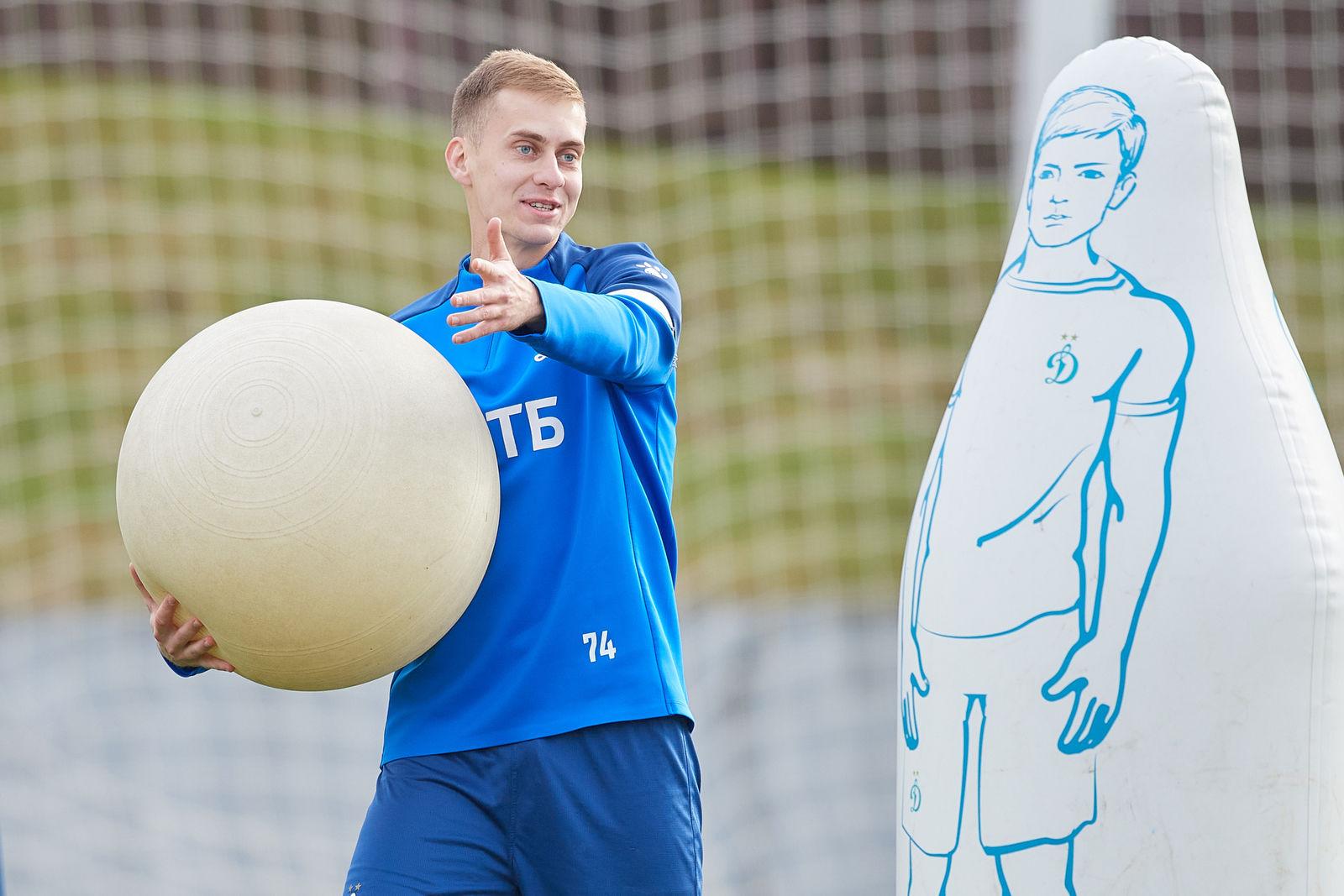 Тренировки перед матчем с «Рубином»