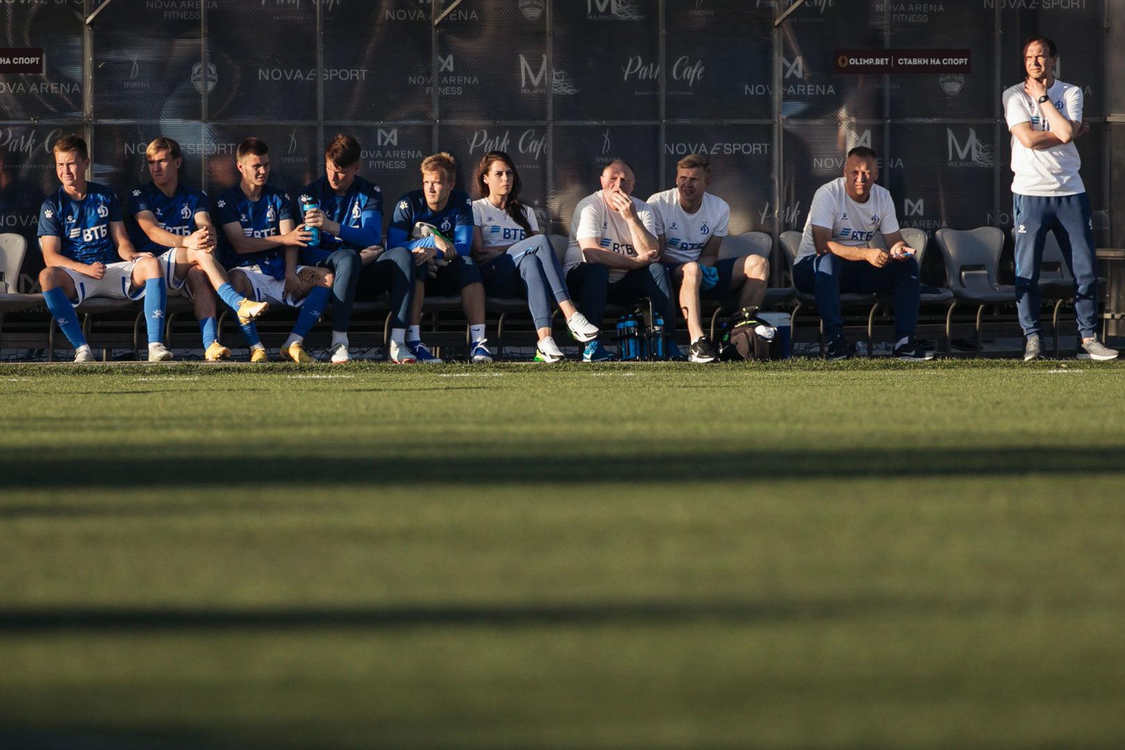 Фоторепортаж с матча «Динамо-2» - «Звезда»