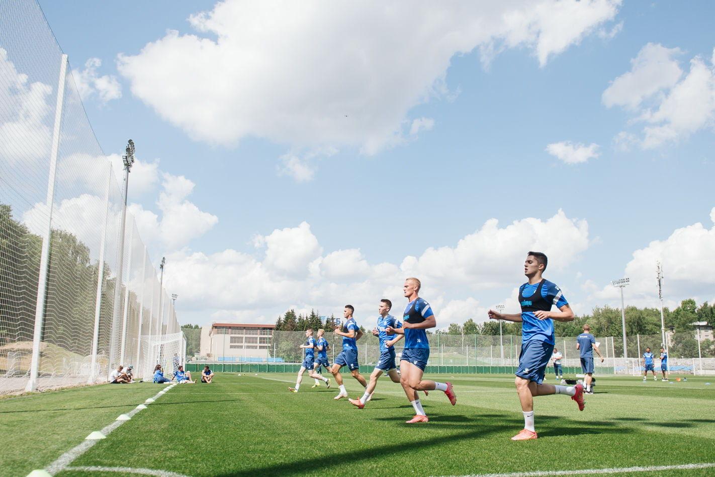 «ВТБ тренировочные сборы»: первые тренировки в Новогорске
