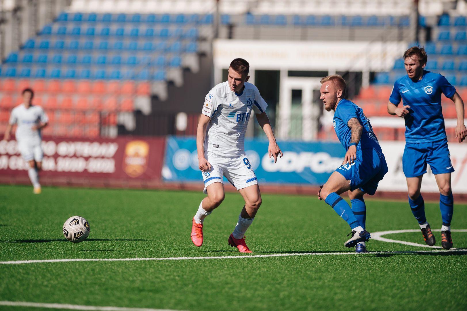 Футболисты «Динамо-2» проиграли лидеру своей группы первенства ПФЛ