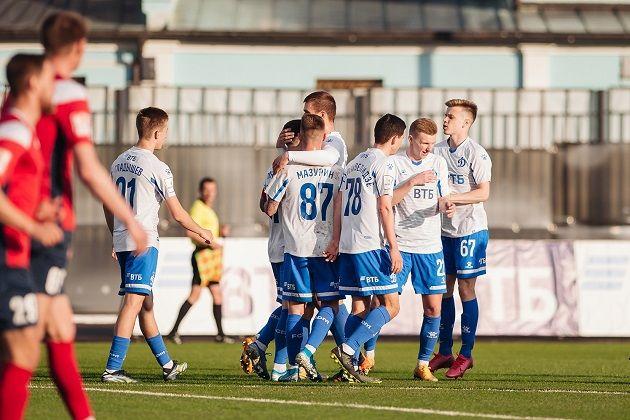 Футболисты «Динамо-2» одержали крупную победу над «Читой»