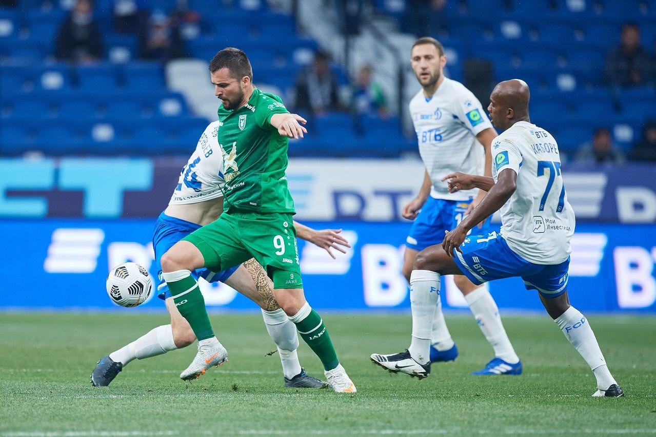 В борьбе за еврокубковые места: «Динамо» сыграет с «Рубином» в субботу