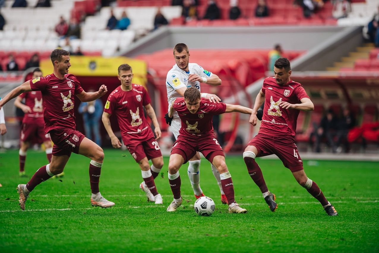 Динамовцы проиграли «Рубину» в Казани