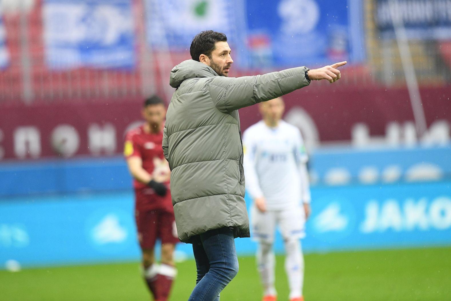 Сандро Шварц: «Мы должны играть в свой футбол на протяжении всего матча»