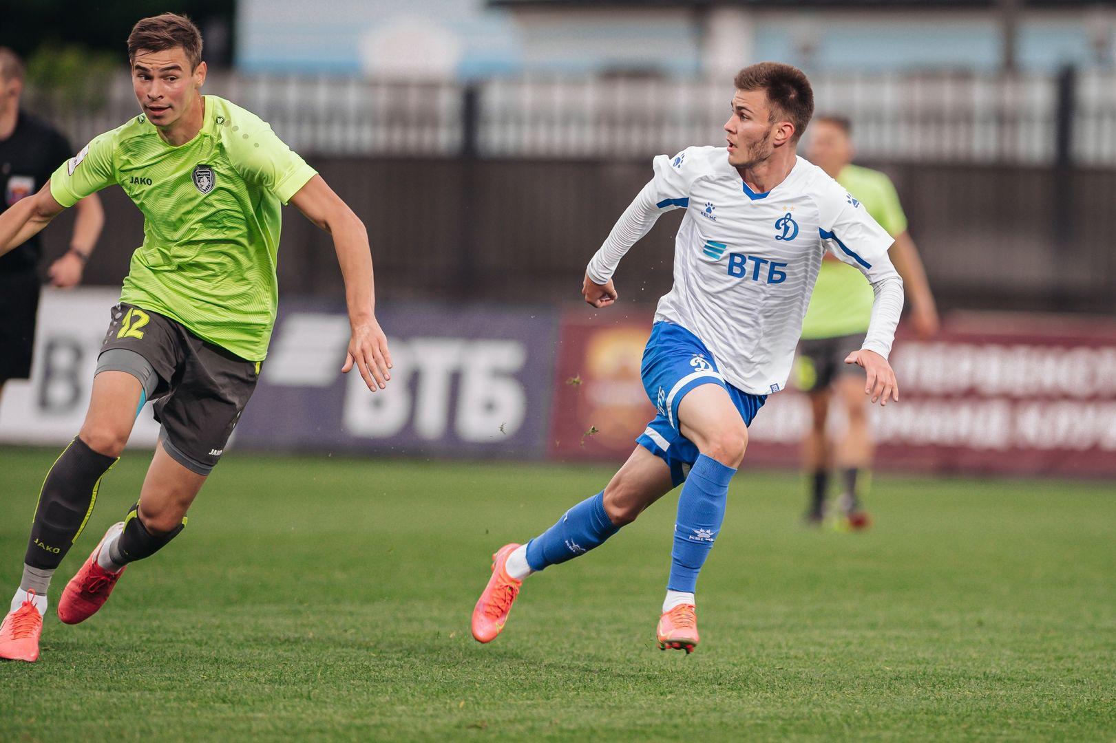 Футболисты «Динамо-2» сыграли вничью с «Родиной»