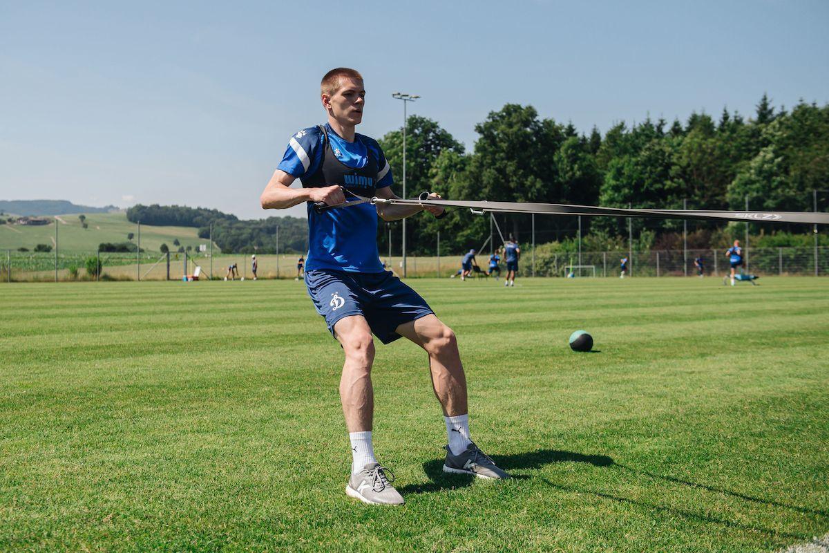 «ВТБ тренировочные сборы»: новые нагрузки и красивый гол Кутицкого