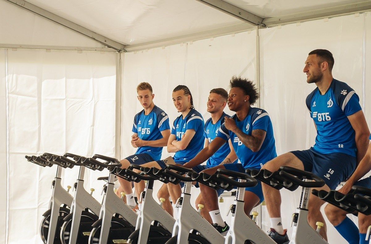 Динамовцы завершили программу первого «ВТБ тренировочного сбора» в Австрии
