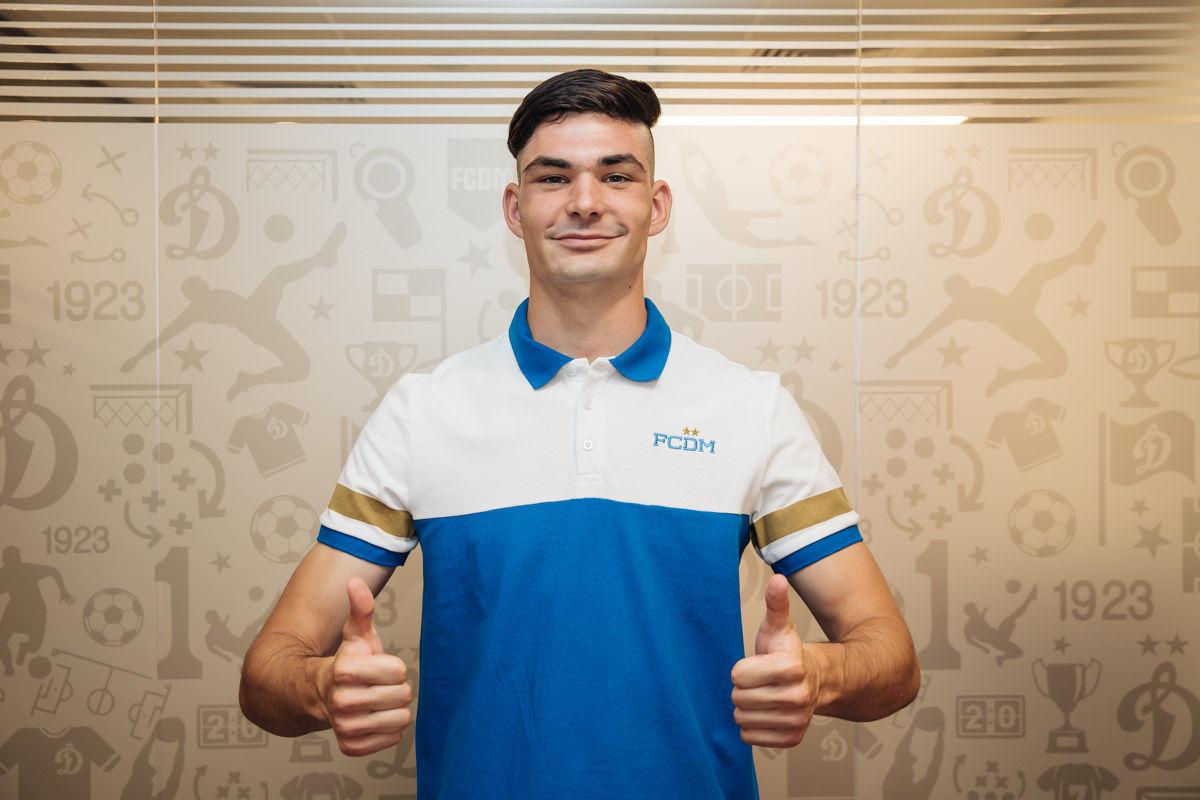 """Саба Сазонов: «Хочу расти и достигать новых высот вместе с """"Динамо""""»"""
