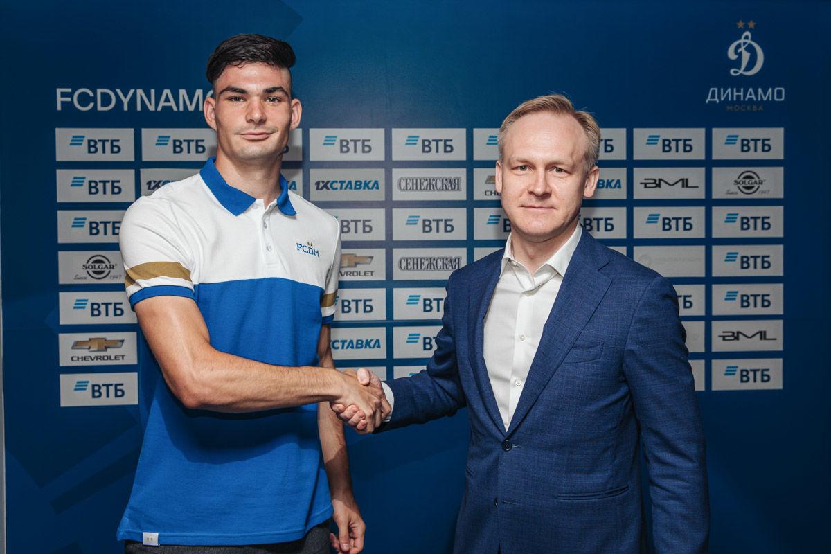 Саба Сазонов перешёл в «Динамо»