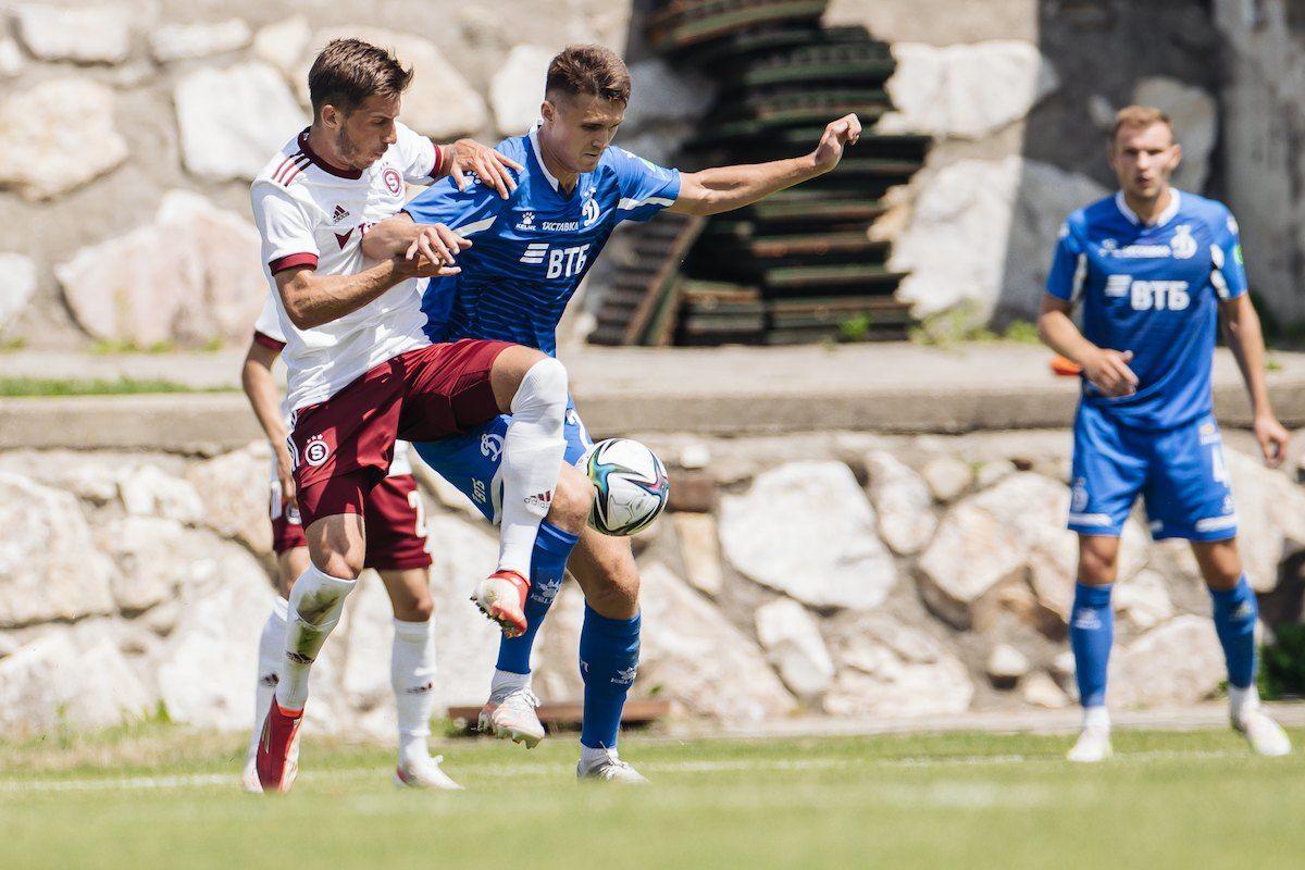 «Динамо» и «Спарта» сыграли вничью, Тюкавин отметился дублем